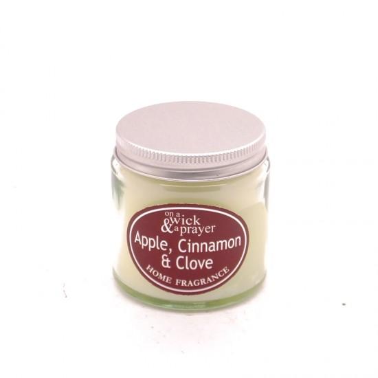 Apple Cinnamon & Clove Simplicity Jar Candles Small 120ml