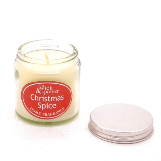 Christmas Spice Simplicity Jar Candles Small 120ml