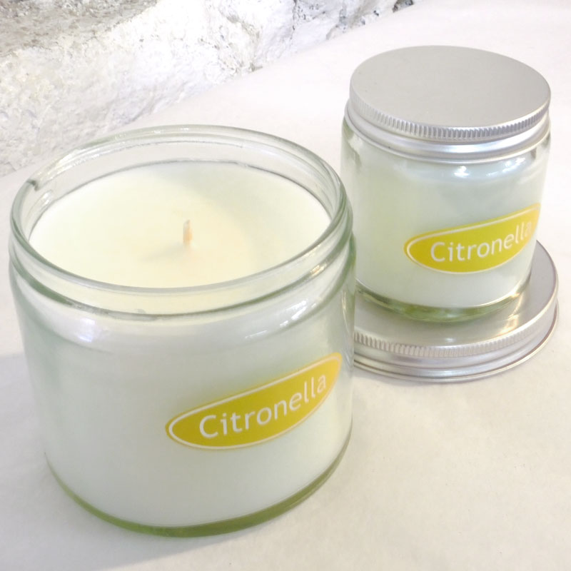 Citronella Simplicity Jar Candles