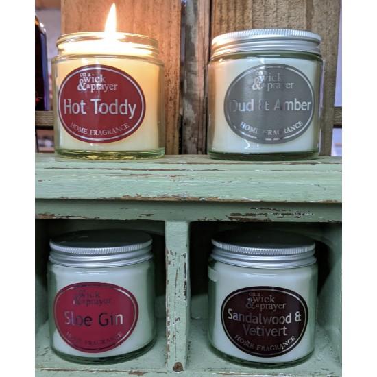 Special offer - Simplicity Jar Candles 120ml - October Fragrances