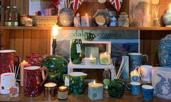 Hand poured Candles from the heart of the Peak District