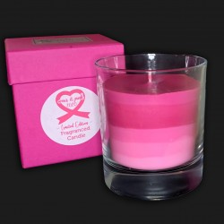 Breast Cancer Charity Candles