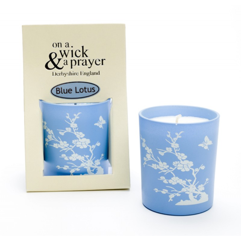 2 for £15 China Garden - Blue Lotus scented candle