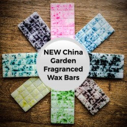 China Garden Fragrance Wax Bars
