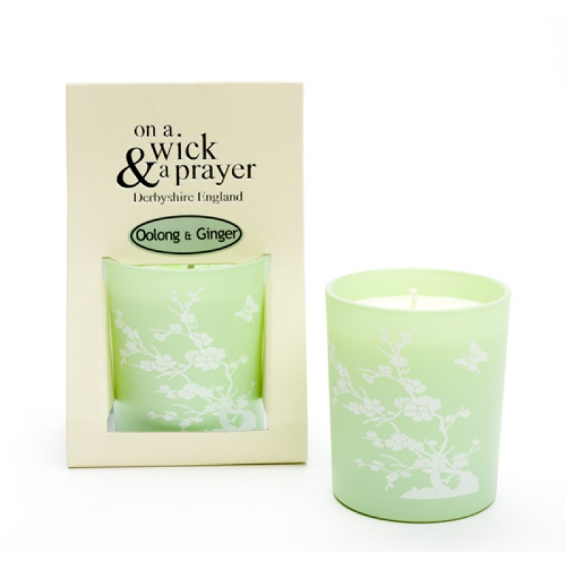 2 for £15 China Garden  - Oolong & Ginger scented candle