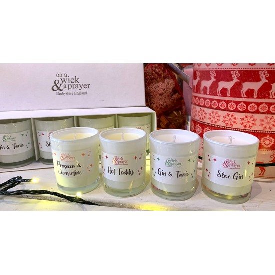 'Drinks Inspired' Fragrance Boxed Shot Candles