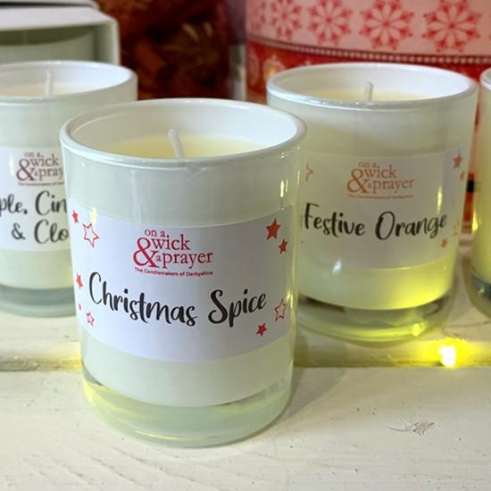 Festive Fragrance Boxed Shot Candles