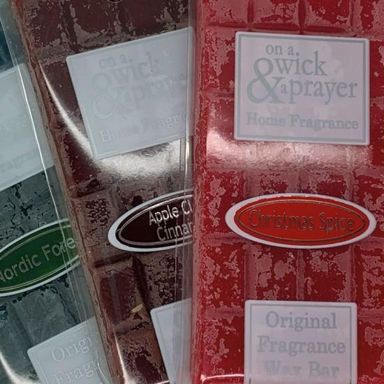 Christmas Fragrance Wax Bars