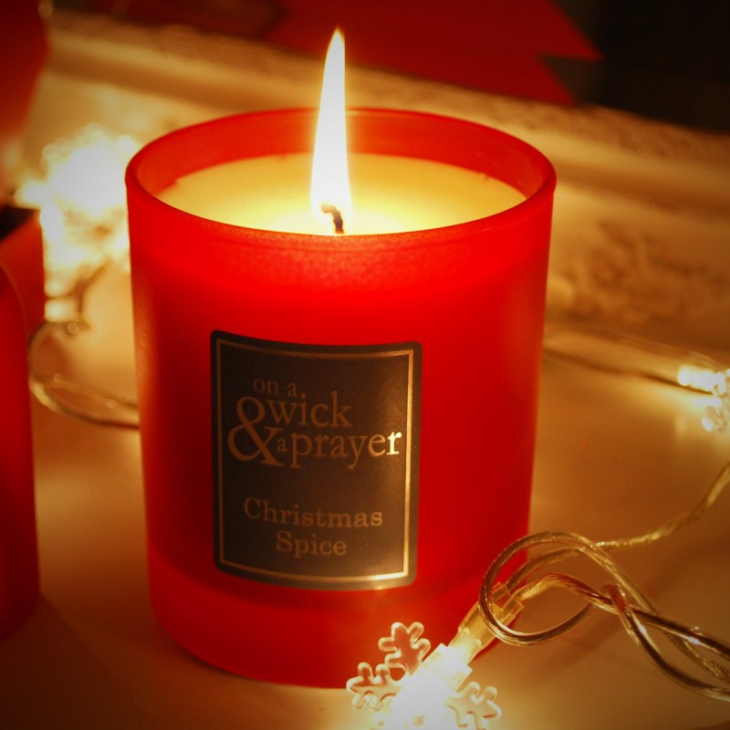 Christmas Spice Luxury Candle - 3 FOR £30