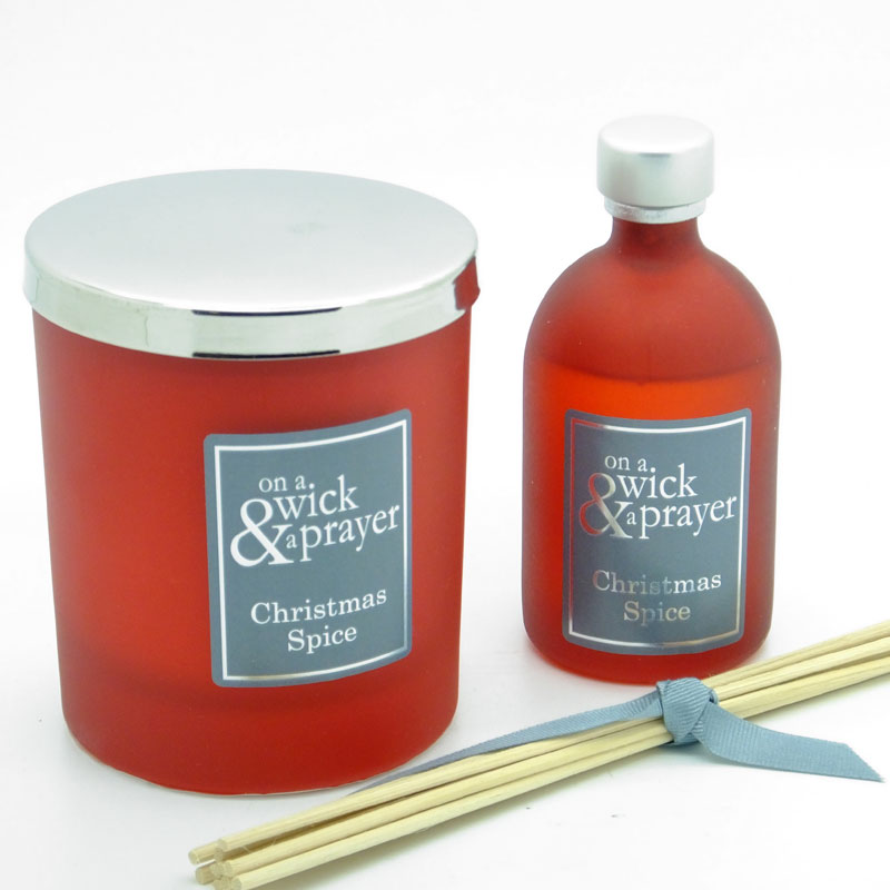 Christmas Spice Candle & Diffuser Gift Set