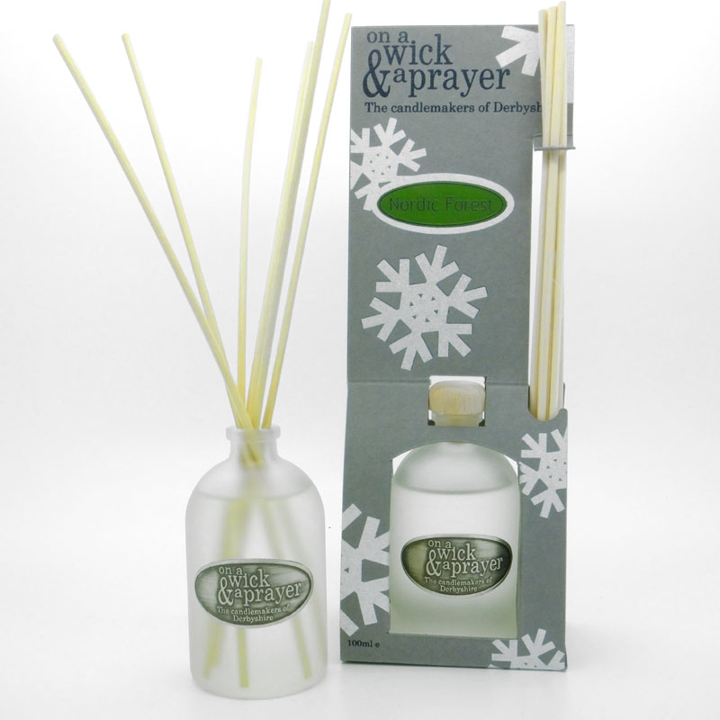 Christmas Snowflake Reed Diffusers
