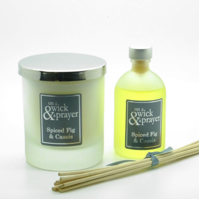 Spiced Fig & Cassis Candle & Diffuser Gift Set