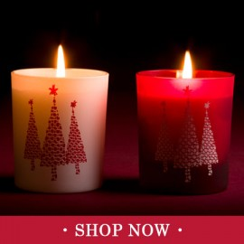 Christmas Tree Motif Candles & Diffusers