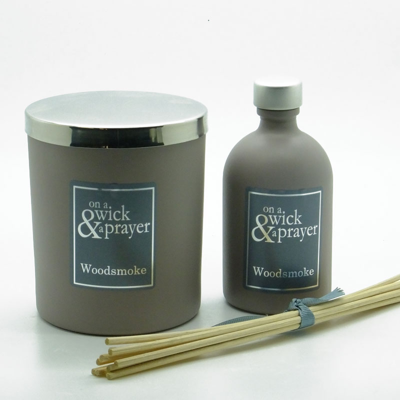 Woodsmoke Candle & Diffuser Gift Set