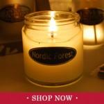 Chiristmas Simplicity Jar Candles