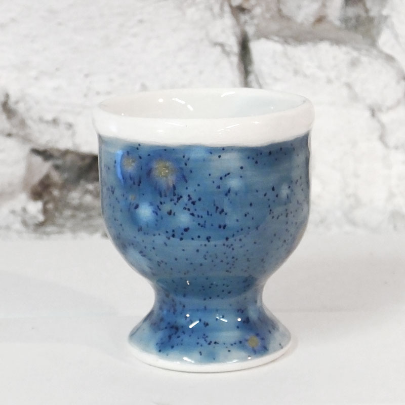 Egg Cup in Mermaid Blue