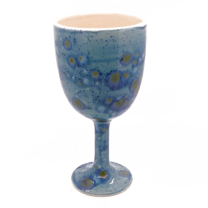 Goblet in Mermaid Blue