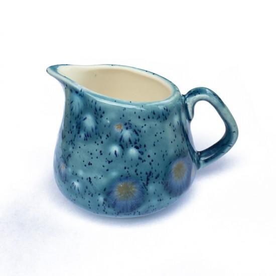 Small / Milk Jug in Mermaid Blue