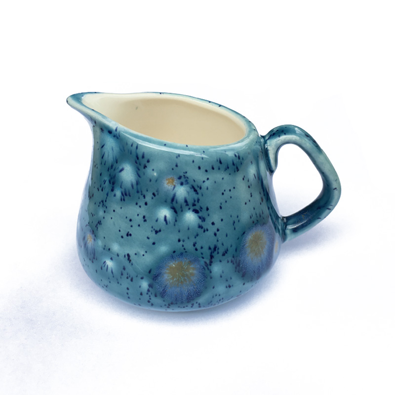 Small / Milk Jug in Mermaid Blue
