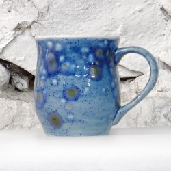 Dovedale Barrel Mug in Mermaid Blue