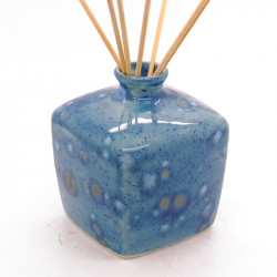 Reed Diffuser - Square Vase in Mermaid Blue