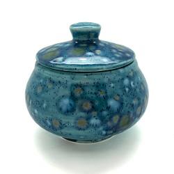 Sugar Bowl in Mermaid Blue