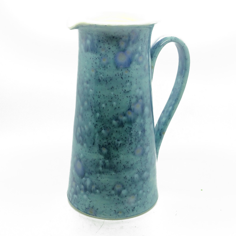 Wine Jug in Mermaid Blue