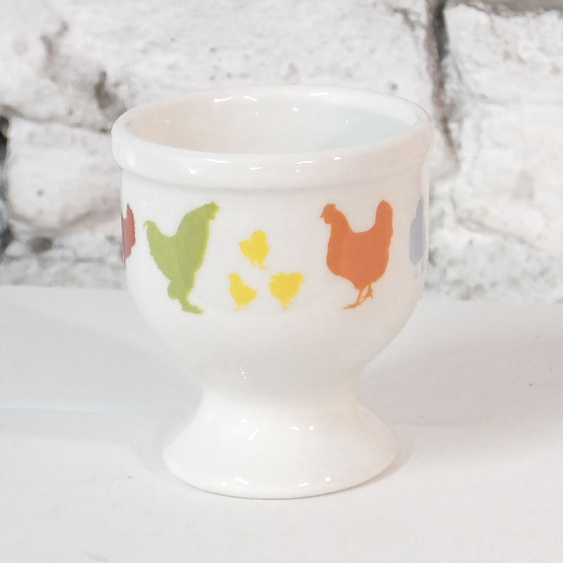 Chicken Print Egg Cup