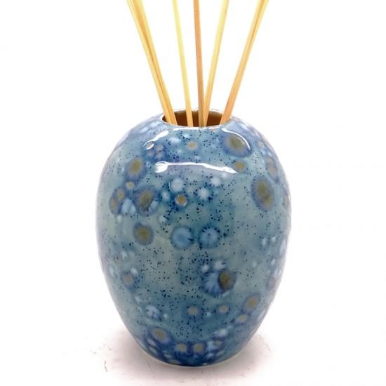 Reed Diffuser - Egg Vase in Mermaid Blue