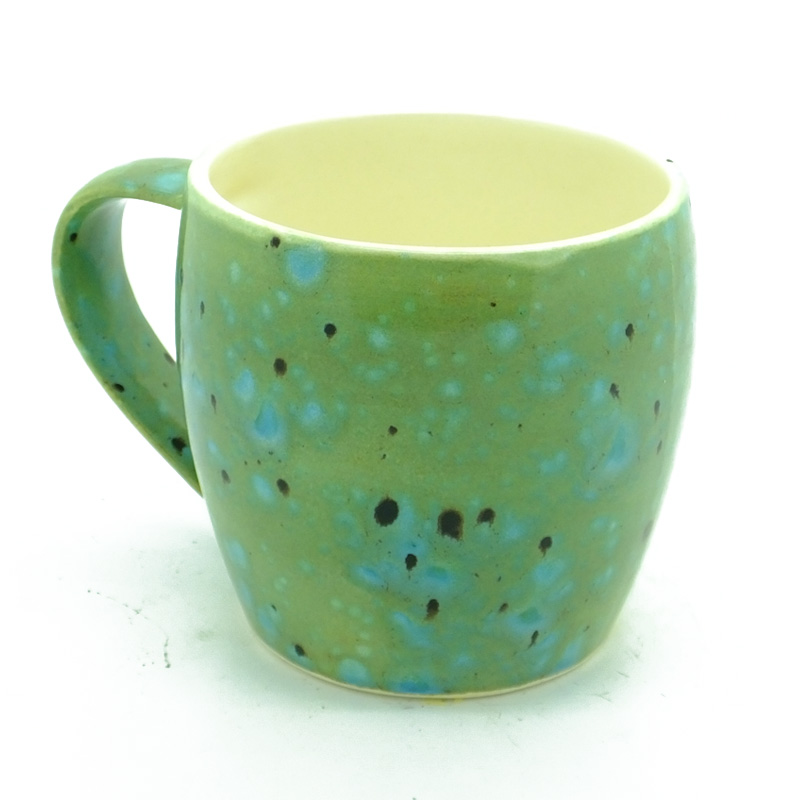 Dovedale Mega Mug in Green Ripple