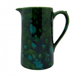 Milk Jug in Lava Green