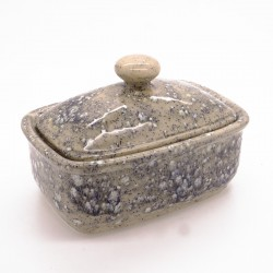 Butter Dish in Dolomitic Grey