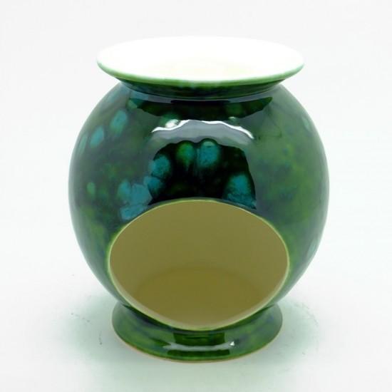Ceramic Burner in Lava Green
