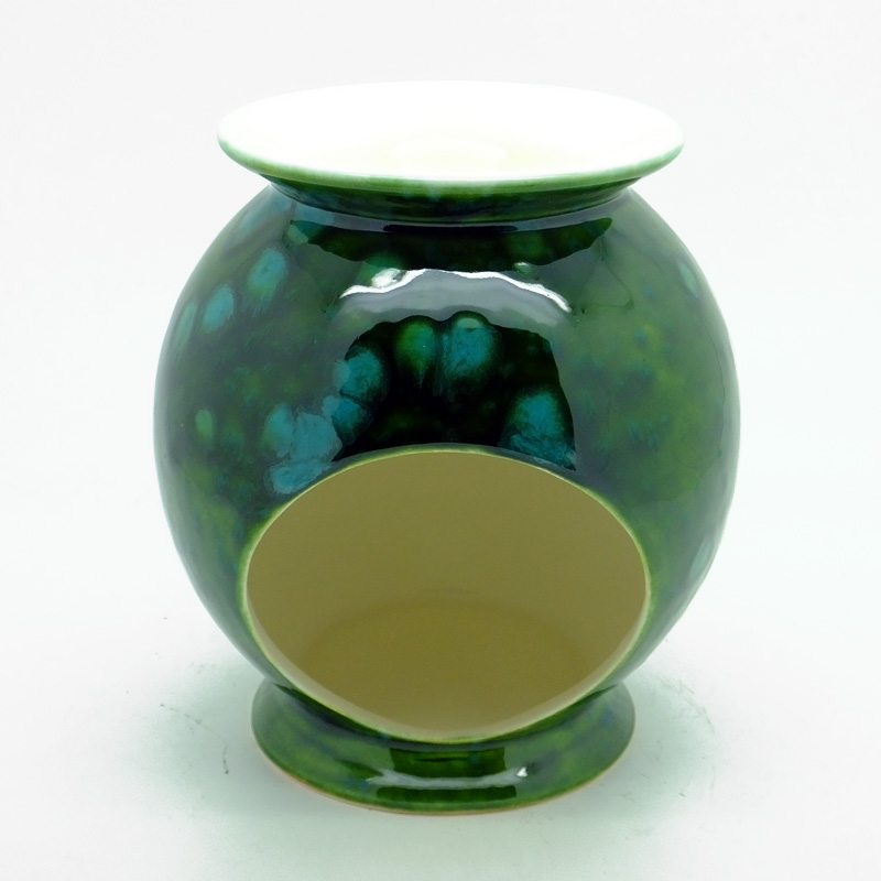 Ceramic Burner in Lava Green