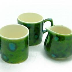 Coffee Lovers Set in Lava Green