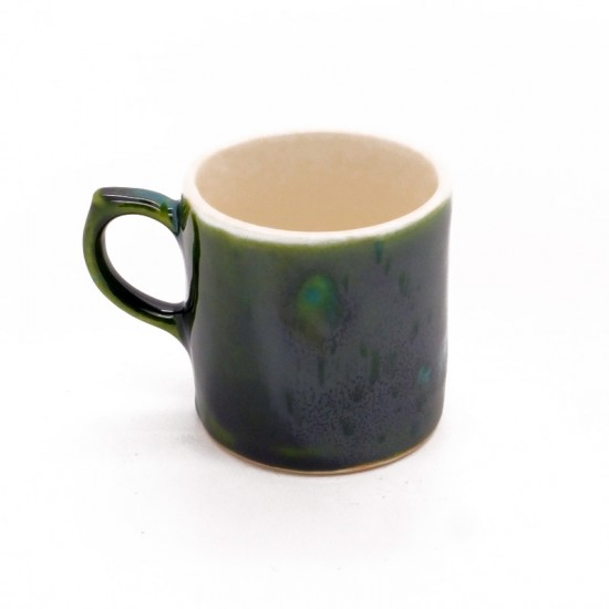 Coffee Can in Lava Green
