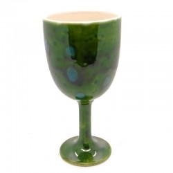 Goblet in Lava Green