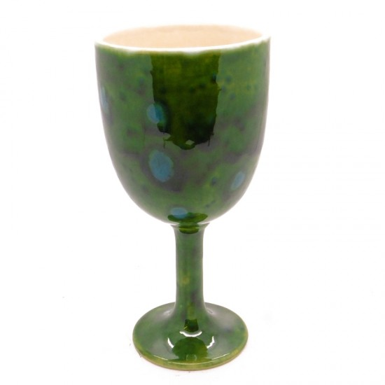 Goblet in Lava Green
