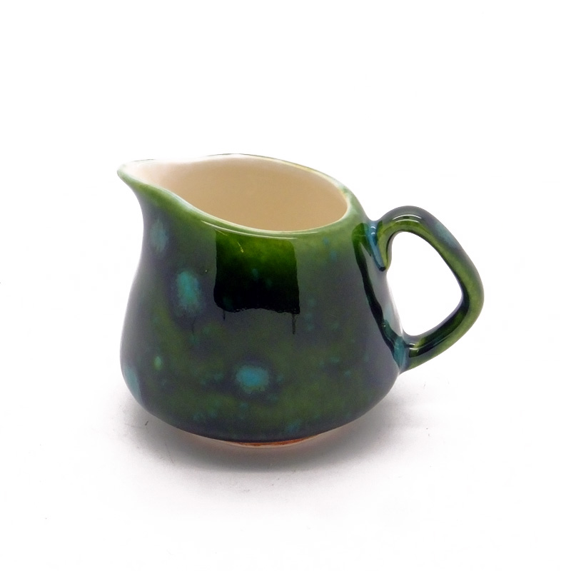 Small / Milk Jug in Lava Green