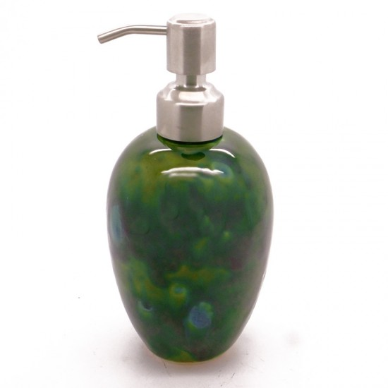 Soap Dispenser in Lava Green