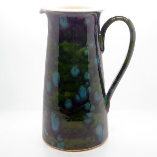 Wine Jug in Lava Green