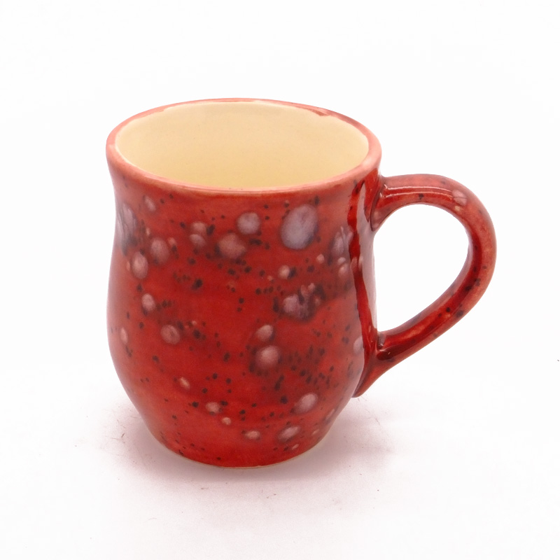 Dovedale Barrel Mug in Lava Red