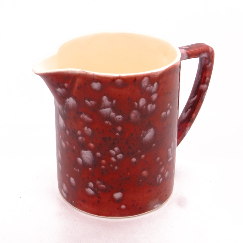 Gravy / Custard Jug in Lava Red