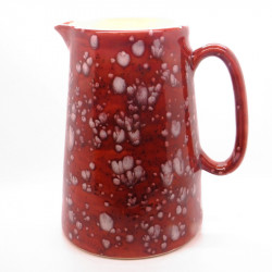 Farmhouse Kitchen Jug in Lava Red