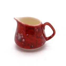 Small / Milk Jug in Lava Red