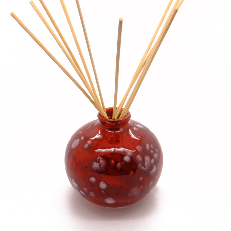 Reed Diffuser Bud Vase Red