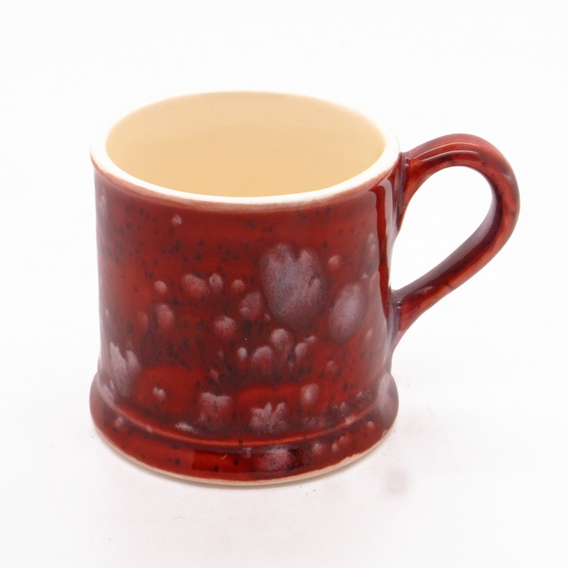 Dovedale Tankard Mug in Lava Red