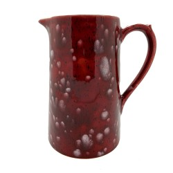 Milk Jug in Lava Red