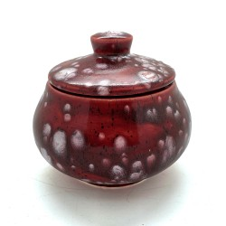 Sugar Bowl in Lava Red