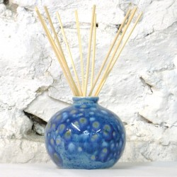 Reed Diffuser - Bud Vase in Mermaid Blue